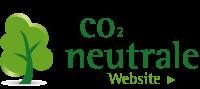 Logo CO2-neutrale Website mit Link