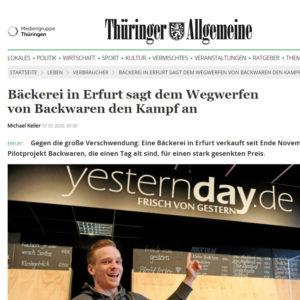 yestern-day-thüringer-allgmeine-bericht-2020
